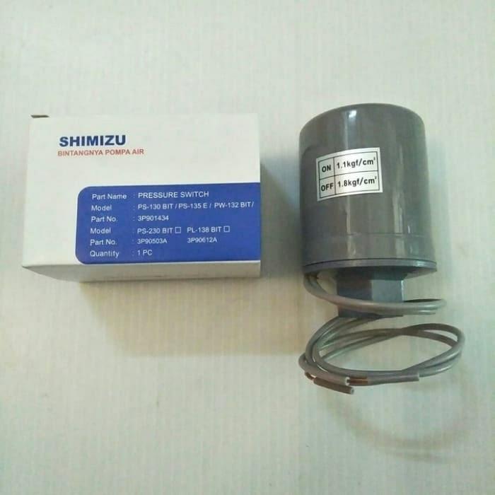 Jual Otomatis Shimizu Pressure Switch Ps 135e Ps 130bit Ps 230bit Kota Surabaya Borton Jaya Sentosa Tokopedia