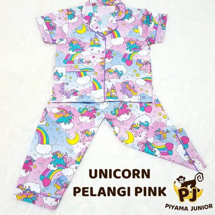 Baju Tidur Anak Unicorn