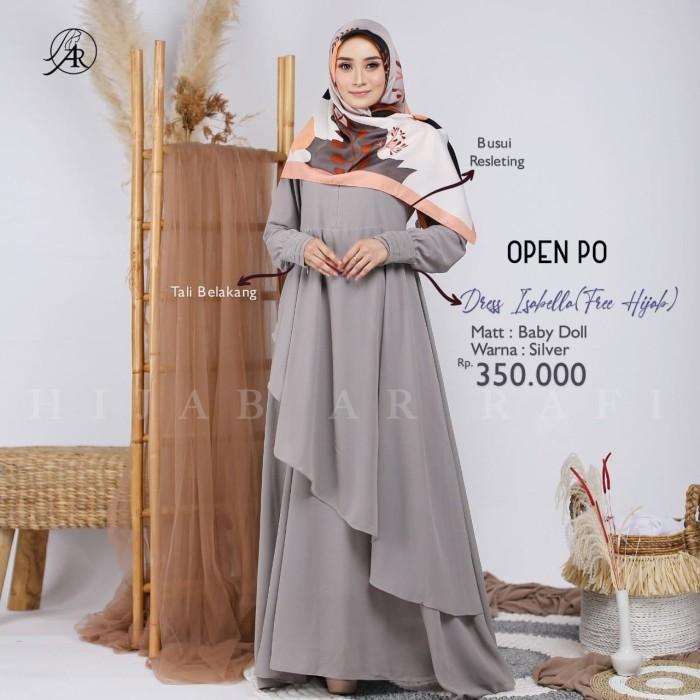 Jual Dress Isabella Dres Arrafi Gamis Dewasa Kab Banyumas Hijabalghani Tokopedia