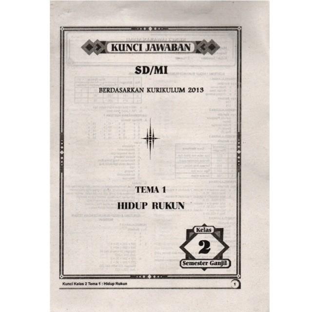 Jual Kunci Jawaban Lks Kelas 2 Sd Tema 1 2 3 4 5 6 7 8 Agama Islam Jakarta Barat Book Of Intelligence Tokopedia
