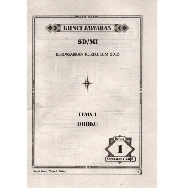 Jual Kunci Jawaban Lks Kelas 1 Sd Tema 1 2 3 4 5 6 7 8 Agama Islam Jakarta Barat Book Of Intelligence Tokopedia