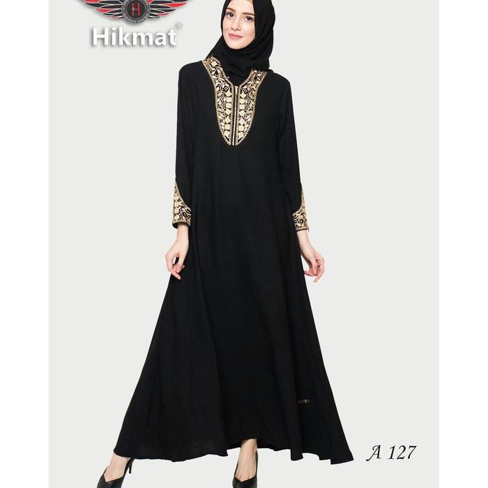 Jual Gamis Abaya Hikmat Original A127 Kab Bekasi Al Jani Fesyen Tokopedia