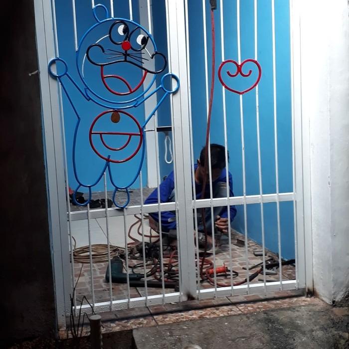 Jual Pintu Karakter Doraemon Lucu Kota Depok Bgkl Las Rizky Langgeng Tokopedia