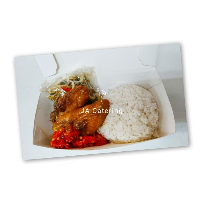 Jual Nasi Ayam Saus Padang Jakarta Barat Ja Catering Tokopedia