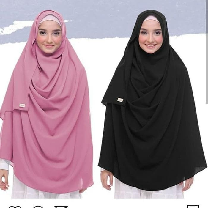 Jual Terlaris Jilbab Pashmina Haura Jumbo Plus Cadar Hijab Kerudung Jakarta Barat Septiandwi Shopp Tokopedia