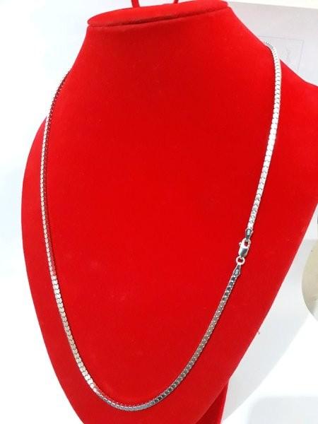 Jual Perhiasan Kalung Pria Perak Silver 925 Lapis Emas Putih Kalung M Jakarta Pusat Jaenudin Galery Tokopedia
