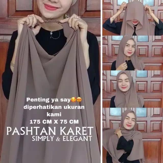 Jual Hijab Jilbab Karet Pastan Pashmina Tali Instant Non Pet Antem Hijab Moca Kota Surakarta Mileacareshop Tokopedia