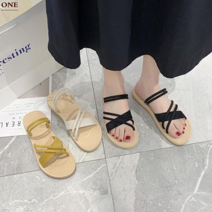 Jual A Versi Korea Dari Liar Dua Dalam Satu Sandal Jepit Wanita 2020 Jakarta Timur Ziloongstore Tokopedia