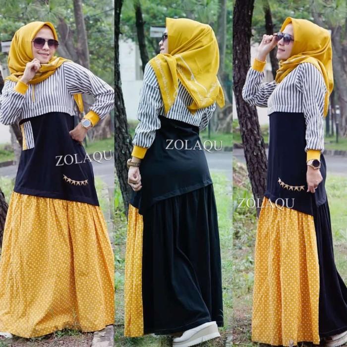 Jual Gamis Zolaqu Original Dress Wanita Terbaru Ori Kota Bandung Ravina1234 Tokopedia