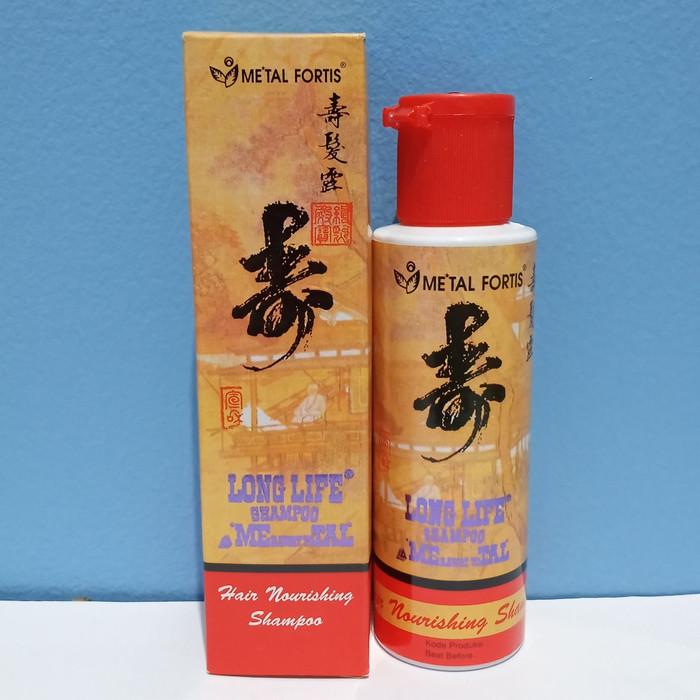 Jual Longlife Shampoo Metal Fortis Hair Nourishing Shampo 100 Ml Kota Bekasi Toko Sun Jaya Tokopedia
