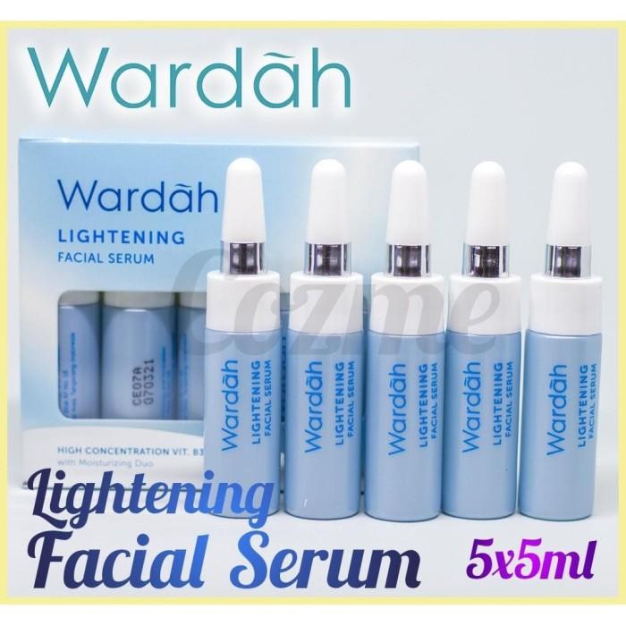 Jual Murah Wardah Lightening Facial Serum 5x5ml Kota Bogor Farah Bags Beauty Tokopedia