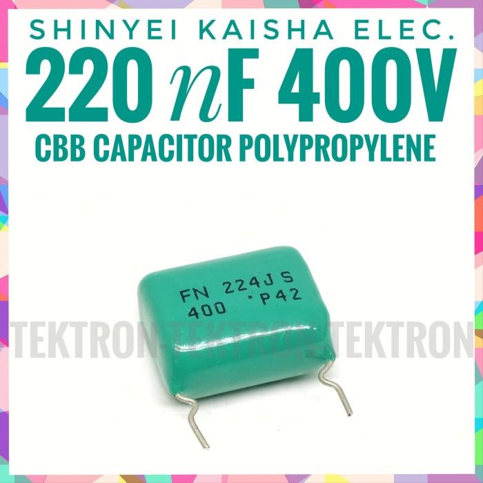 Jual Shinyei Kaisha Elec 220nf 400v Polypropylene Cbb Capacitor Audio 224 Kota Bandung Tektron Tokopedia