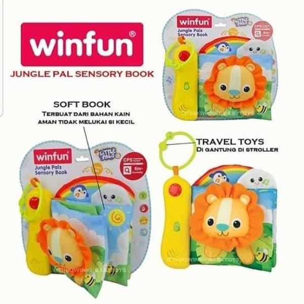 Jual Mainan Soft Book Winfun Jungle Pal Sensory Book Jakarta Barat Pre Lambert Shop Tokopedia