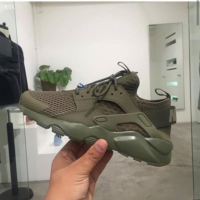 Nike Huarache Run Ultra Olive Green