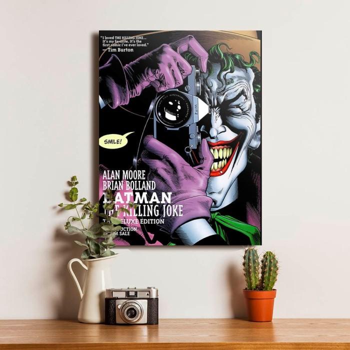 Jual Poster Joker Hiasan Pajangan Dekorasi Dinding Kayu Rumah Kamar Unik M Kota Kediri Cakep Production Tokopedia