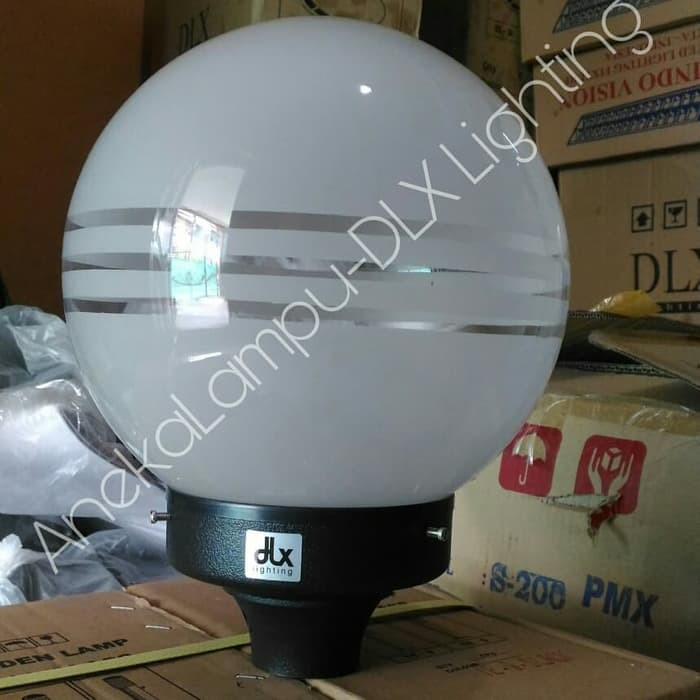 Jual Dlx Lighting Tfp 1 3 Tl Lampu Taman Pilar Bulat Diameter Kaca 22 5 Cm Jakarta Selatan Hotel Nusantara Tokopedia