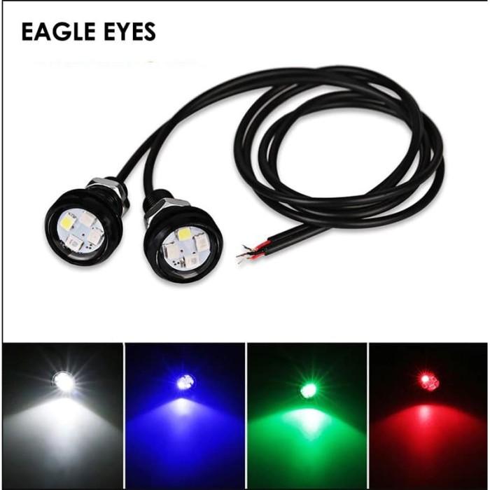Jual Led Eagle Eye 23mm Lampu Mata Elang Drl Led Motor Mobil Universal Biru Jakarta Barat Price Priority Tokopedia