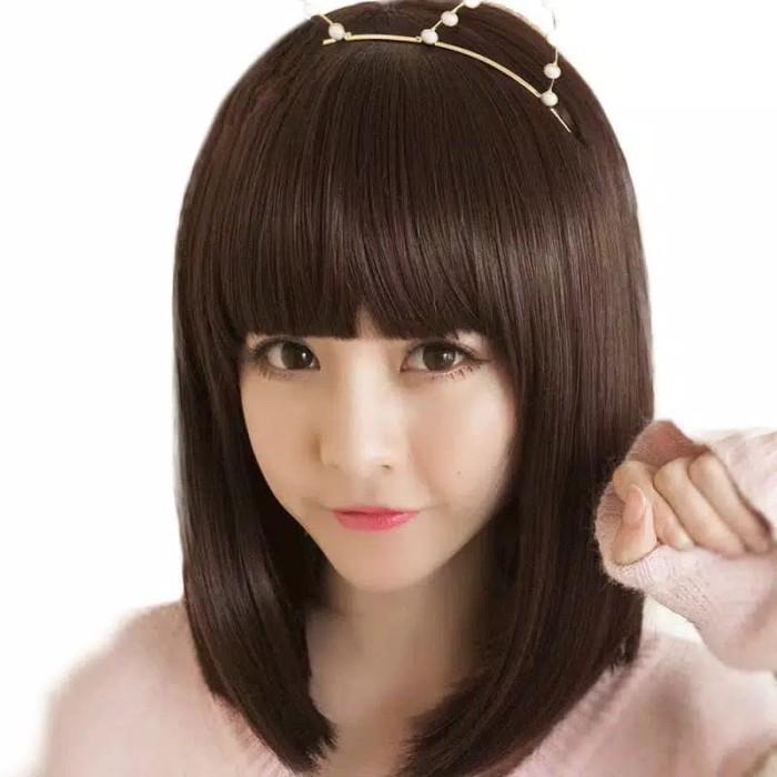 Jual Wig Wanita Rambut Pendek Lurus Kota Bandung Glory Shop Bandung Tokopedia