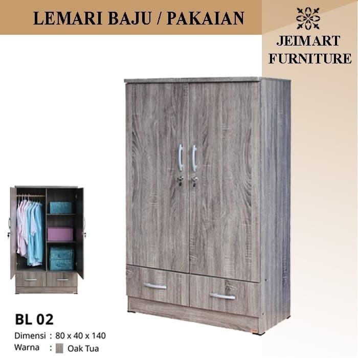 Jual Lemari Pakaian Mini/ Anak Kost | BL02 - Kota Tangerang - Jeimart Store  | Tokopedia