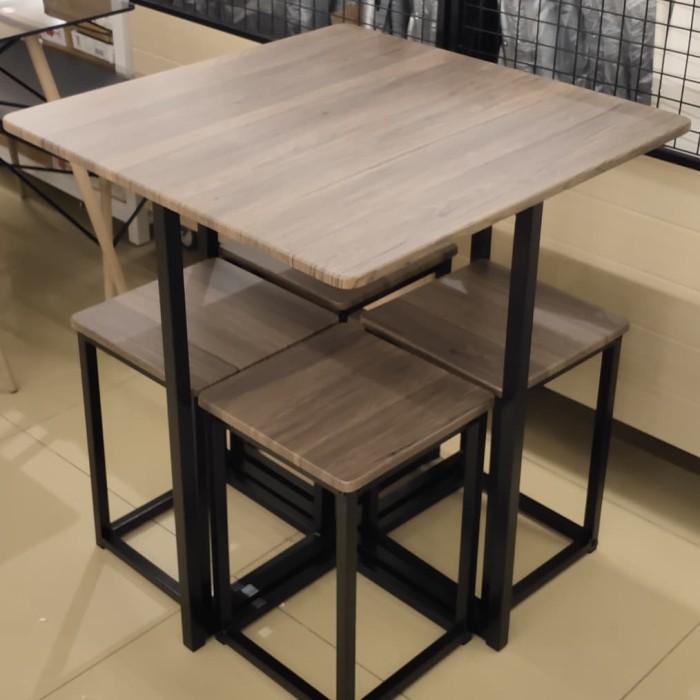 Jual Kursi Kafe Meja Makan Minimalis Set Selma Informa Kab Karawang Rumah Furniture Dan Accessories Tokopedia