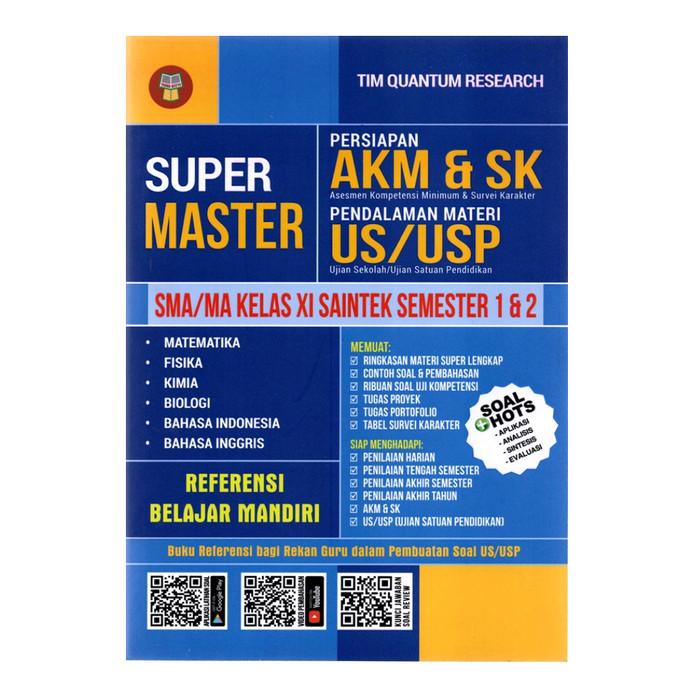 Jual Buku Super Master Sma Ma Kelas 11 Saintek Persiapan Akm Dan Sk Kab Tangerang Dorimat Tokopedia