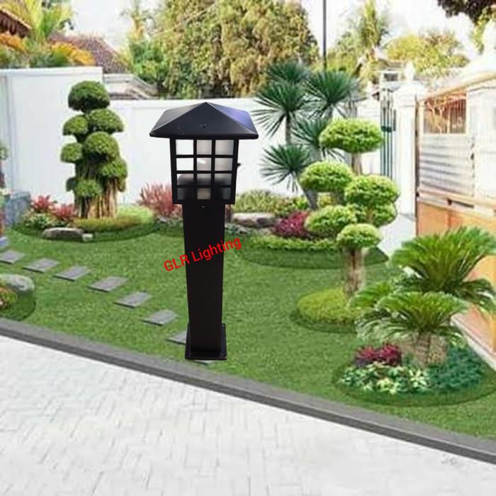 Jual Lampu Taman Minimalis Outdoor Model Kotak Jakarta Pusat Galeria Lighting Tokopedia