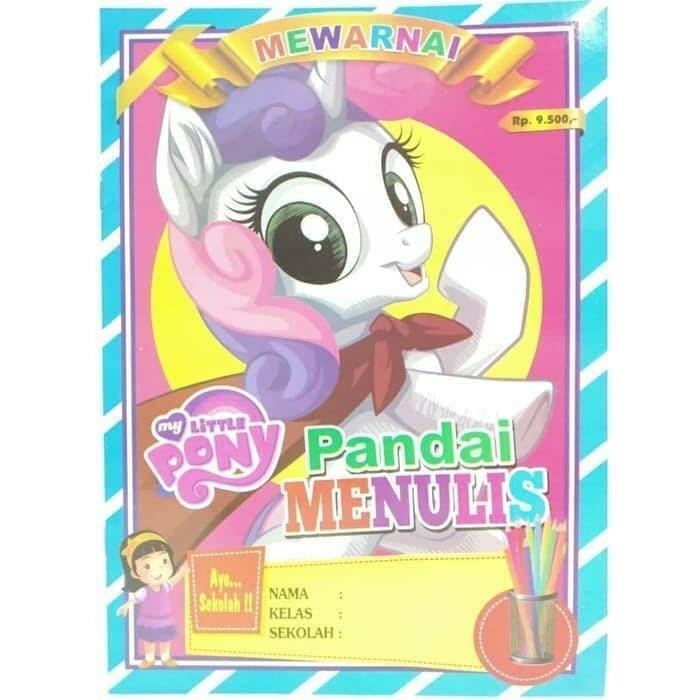 Jual Buku Mewarnai Anak My Little Pony Kuda Poni Ada Dua Model Kota Bekasi Kudaponi Tokopedia
