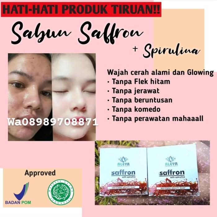 Jual Sabun Saffron Pemutih Wajah Penghilang Jerawat Dan Flek Hitam Jakarta Timur Here Solutions Tokopedia