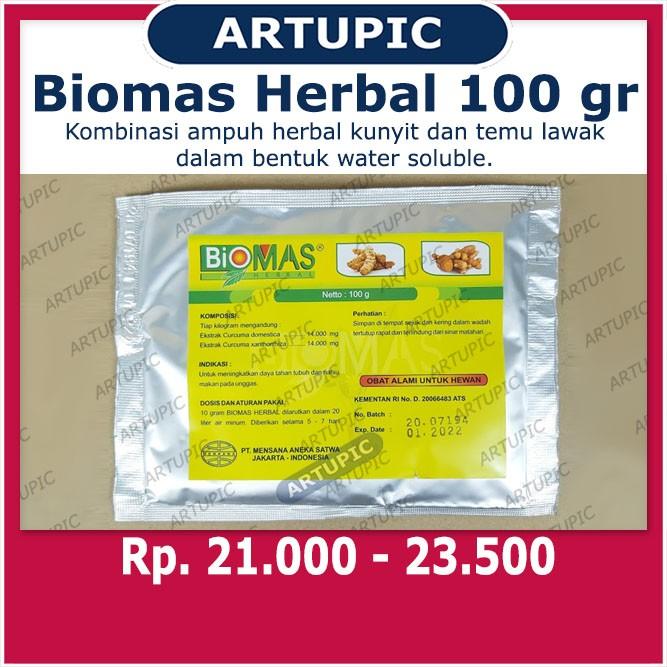 Biomas Herbal 100 gram