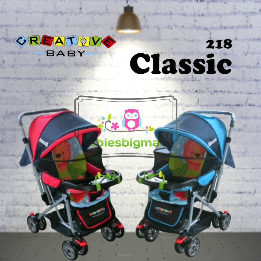 gambar Stroller Classic 218 Kereta Bayi Anak