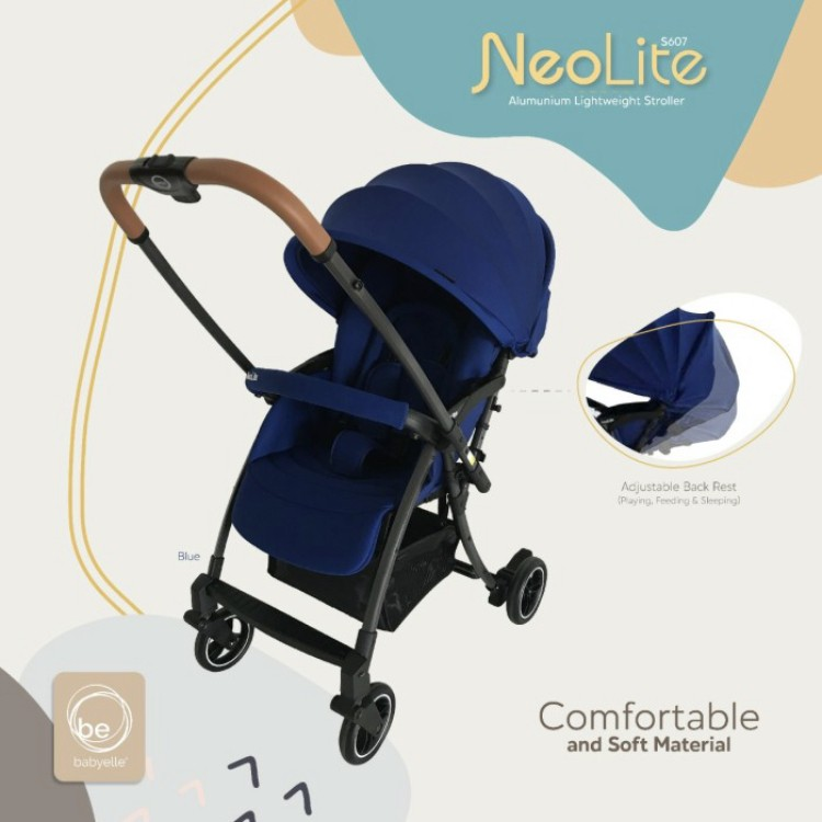 gambar Stroller Baby Elle | BabyElle S 607  Reversible