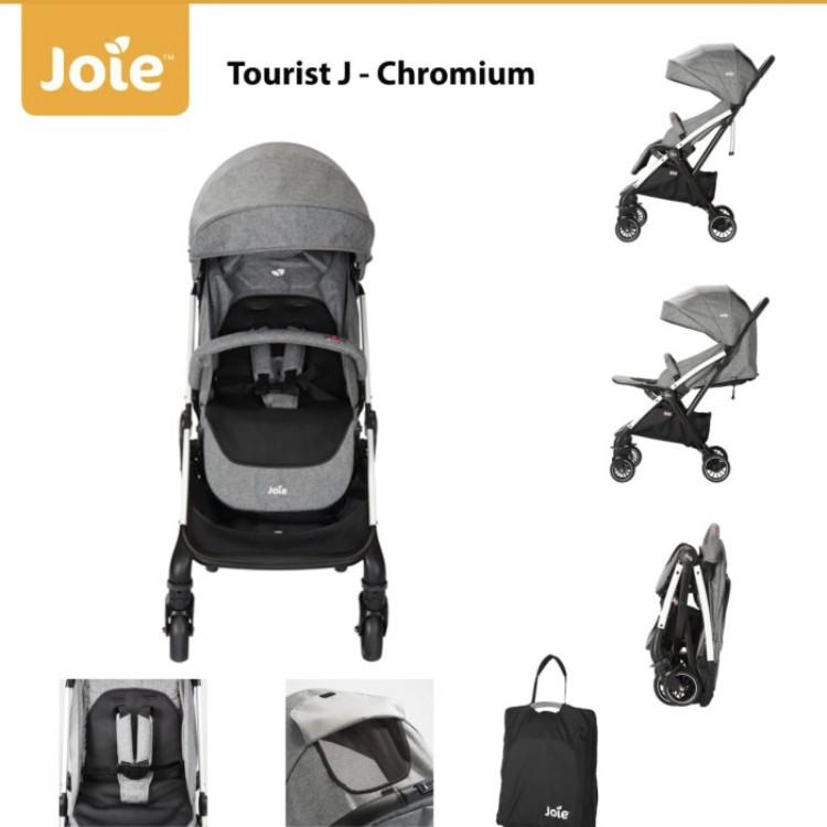 gambar Kereta Dorong Bayi Joie | Chromium | Stroller Joie Meet Tourist J