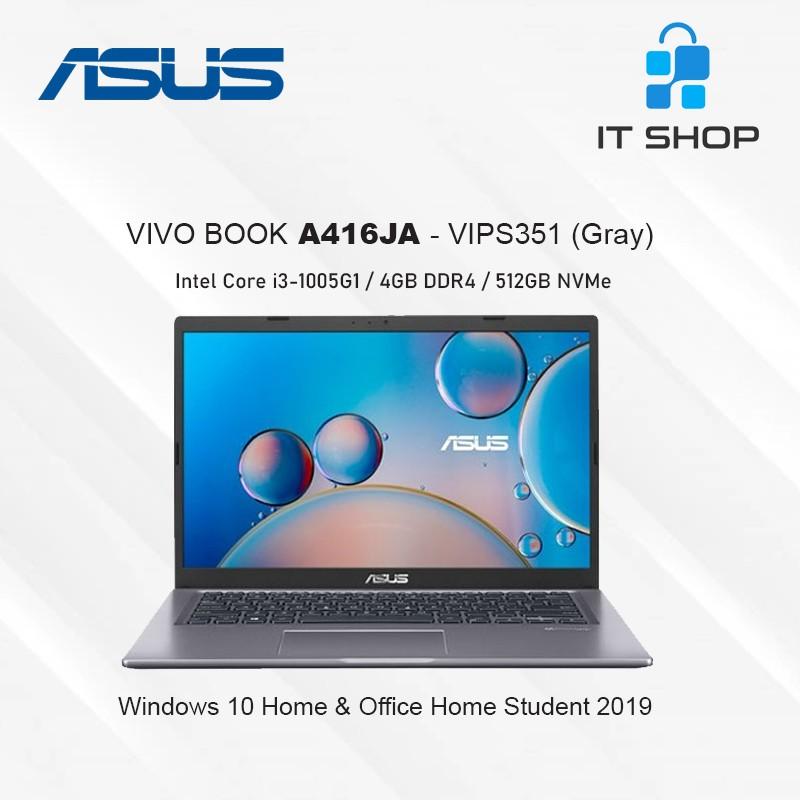 ASUS Vivo Book A416JA-VIPS352 Core i3 - Gray Image