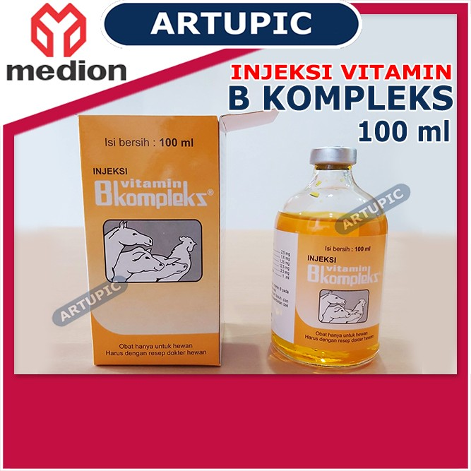 Injeksi Vitamin B Kompleks 100 ml