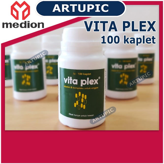 Vita Plex BOTOL isi 100 Kaplet