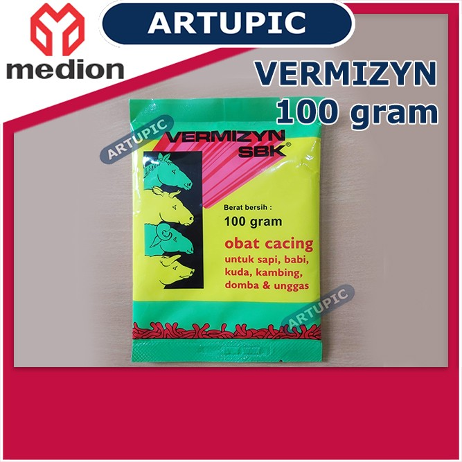 Vermizyn SBK 100 gram