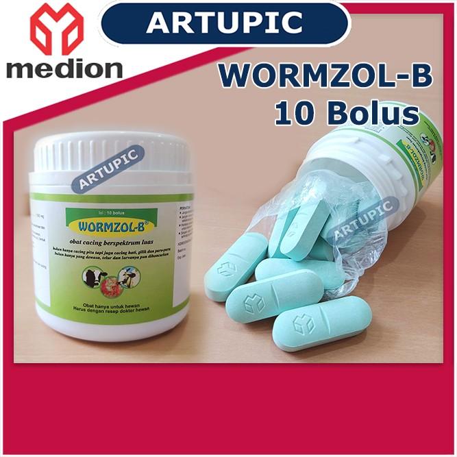Wormzol Bolus 1 Pot