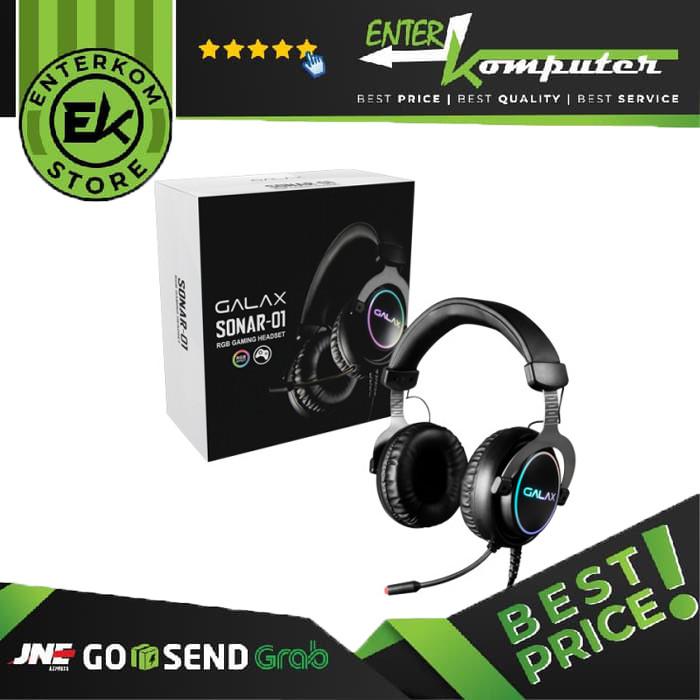 GALAX SONAR-01 Wired Gaming Headset - USB 7.1 Channel RGB