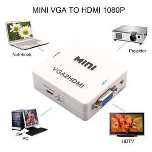 Konverter VGA ke HDMI Box