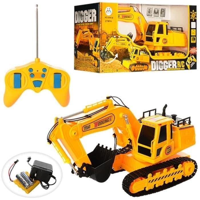 gambar Mainan Mobil RC Digger Truck Excavator