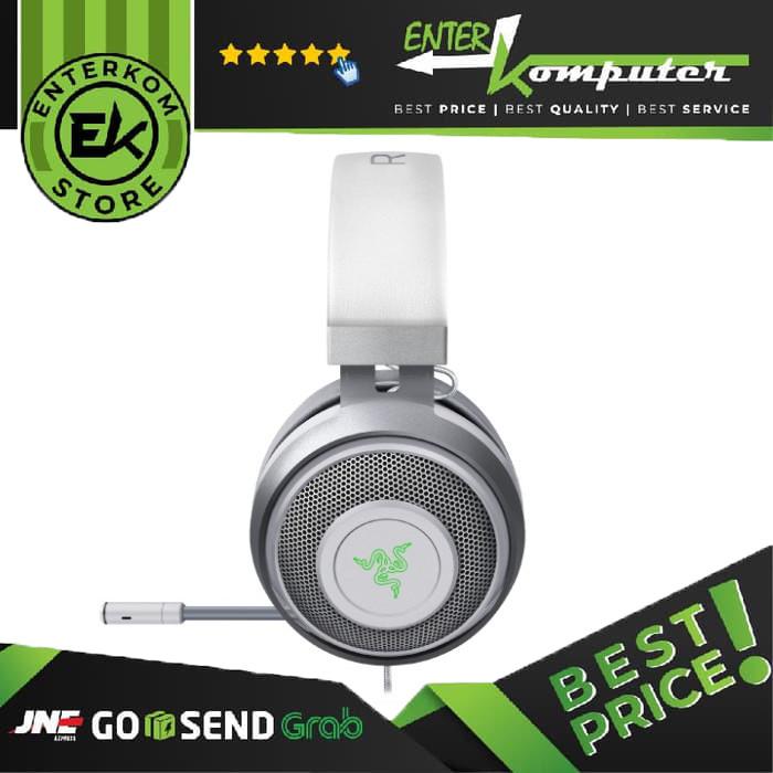 Razer Kraken - Multi-Platform Wired Gaming Headset - Mercury Edition